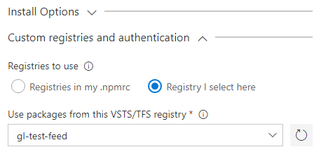 Custom Registries
